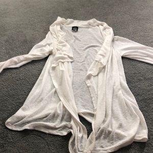 BOBEAU cardigan in off white Size Large.